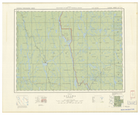 National Topographic Series (scale 1:126,720) : Gogama, Ontario [sheet 41P/NW]