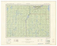 National Topographic Series (scale 1:126,720) : Timmins, Ontario [sheet 42A/SW]