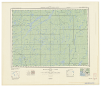 National Topographic Series (scale 1:126,720) : Missinaibi Lake, Ontario [sheet 42B/SW]