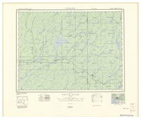 National Topographic Series (scale 1:126,720) : White River, Ontario [sheet 42C/NW]