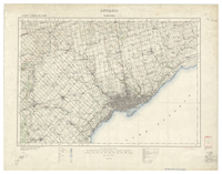 National Topographic Series (scale 1:126,720) : Toronto, Ontario [sheet 30M/NW]
