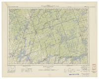 National Topographic Series (scale 1:126,720) : Bobcaygeon, Ontario [sheet 31D/NE]