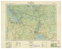 National Topographic Series (scale 1:126,720) : Orillia, Ontario [sheet 31D/NW]