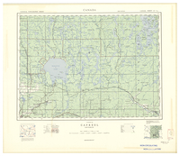 National Topographic Series (scale 1:126,720) : Capreol, Ontario [sheet 41I/NE]