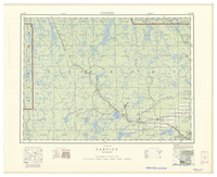 National Topographic Series (scale 1:126,720) : Cartier, Ontario [sheet 41I/NW]