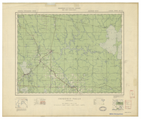 National Topographic Series (scale 1:126,720) : Iroquois Falls, Ontario [sheet 42A/NE]