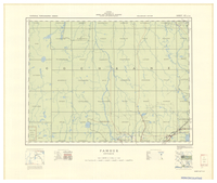 National Topographic Series (scale 1:126,720) : Pamour, Ontario [sheet 42A/NW]