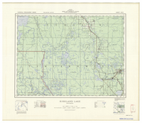 National Topographic Series (scale 1:126,720) : Kirkland Lake, Ontario [sheet 42A/SE]
