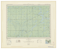 National Topographic Series (scale 1:126,720) : Goudreau, Ontario [sheet 42C/SE]
