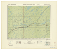 National Topographic Series (scale 1:126,720) : Jellicoe, Ontario [sheet 42E/NW]
