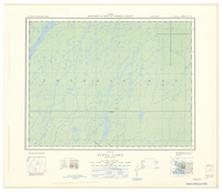 National Topographic Series (scale 1:126,720) : Steel Lake, Ontario [sheet 42E/SE]