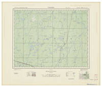 National Topographic Series (scale 1:126,720) : Opasatika, Ontario [sheet 42G/NE]