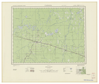 National Topographic Series (scale 1:126,720) : Hearst, Ontario [sheet 42G/NW]