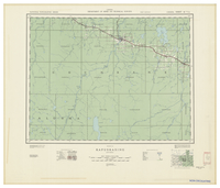 National Topographic Series (scale 1:126,720) : Kapuskasing, Ontario [sheet 42G/SE]