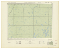 National Topographic Series (scale 1:126,720) : Opasatika Lake, Ontario [sheet 42G/SW]