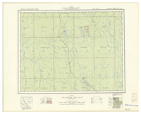 National Topographic Series (scale 1:126,720) : Island Falls, Ontario [sheet 42H/NW]