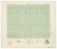 National Topographic Series (scale 1:126,720) : Little Abitibi, Ontario [sheet 42H/SE]