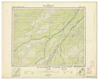National Topographic Series (scale 1:126,720) : Blacksmith Rapids, Ontario [sheet 42I/NW]