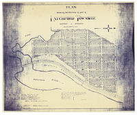 Plan showing subdivision of part of Latchford Townsite, District of Nipissing