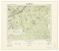 National Topographic Series (scale 1:126,720) : Coral Rapids, Ontario [sheet 42I/SW]
