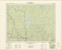 National Topographic Series (scale 1:126,720) : Kaministikwia, Ontario [sheet 52A/NW]