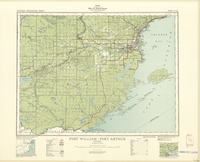 National Topographic Series (scale 1:126,720) : Fort William - Port Arthur, Ontario [sheet 52A/SW]