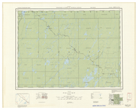 National Topographic Series (scale 1:126,720) : Foleyet, Ontario [sheet 42B/SE]