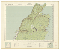 National Topographic Series (scale 1:126,720) : Cape Breton Highlands Park, Nova Scotia [sheet 11K/NE]