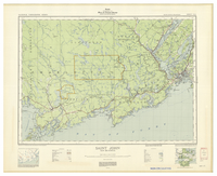 National Topographic Series (scale 1:126,720) : Saint John, New Brunswick [sheet 21G/SE]