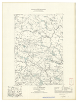 National Topographic Series (scale 1:126,720) : Lac Au Sorcier, Quebec, Map 681A [sheet 31I/NW]
