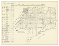 Map of the Township of Otonabee 1860