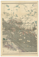 Map of Manitoba, Saskatchewan and Alberta, 1909 [Central]
