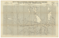 Map of part of the province of Manitoba and North West Territories shewing the Hudsons Bay Company's sections [part 1]