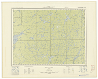 National Topographic Series (scale 1:126,720) : Cuvillier, Quebec [sheet 32C/NE]