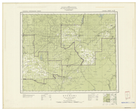 National Topographic Series (scale 1:126,720) : Etomami, Saskatchewan, Map 957A [sheet 63D/NE]