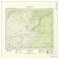 National Topographic Series (scale 1:126,720) : Arborfield, Saskatchewan, Map 942A [sheet 63E/SW]