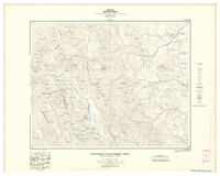 National Topographic Series (scale 1:126,720) : Palliser-Kananaskis Area, British Columbia and Alberta [sheet 82J/NW/E]