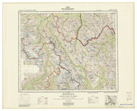 National Topographic Series (scale 1:126,720) : Mistaya, British Columbia and Alberta [sheet 82N/NE]