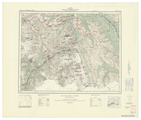 National Topographic Series (scale 1:126,720) : Glacier Park, British Columbia [sheet 82N/SW]