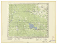 National Topographic Series (scale 1:126,720) : Chip Lake, Alberta [sheet 83G/NW]
