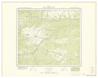 National Topographic Series (scale 1:126,720) : Rycroft, Alberta, Map 954A [sheet 83M/NE]