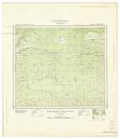 National Topographic Series (scale 1:126,720) : Blueberry Mountain, Alberta, Map 949A [sheet 83M/NW]