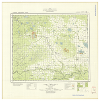 National Topographic Series (scale 1:126,720) : Beaverlodge, Alberta, Map 944A [sheet 83M/SW]