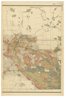 Map of Manitoba, Saskatchewan and Alberta, 1905 [Central]