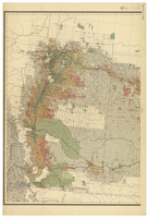 Map of Manitoba, Saskatchewan and Alberta, 1905 [West]