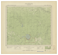National Topographic Series (scale 1:126,720) : Sturgeon Lake, Alberta, Map 956A [sheet 83N/SW]