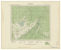 National Topographic Series (scale 1:126,720) : Grimshaw, Alberta [sheet 84C/SW]