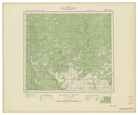National Topographic Series (scale 1:126,720) : Hines Creek, Alberta [sheet 84D/SE]
