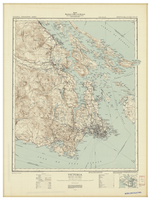 National Topographic Series (scale 1:126,720) : Victoria, British Columbia [sheet 92B/NW & SW]