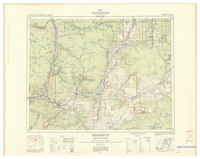 National Topographic Series (scale 1:126,720) : Merritt, British Columbia [sheet 92I/SE]